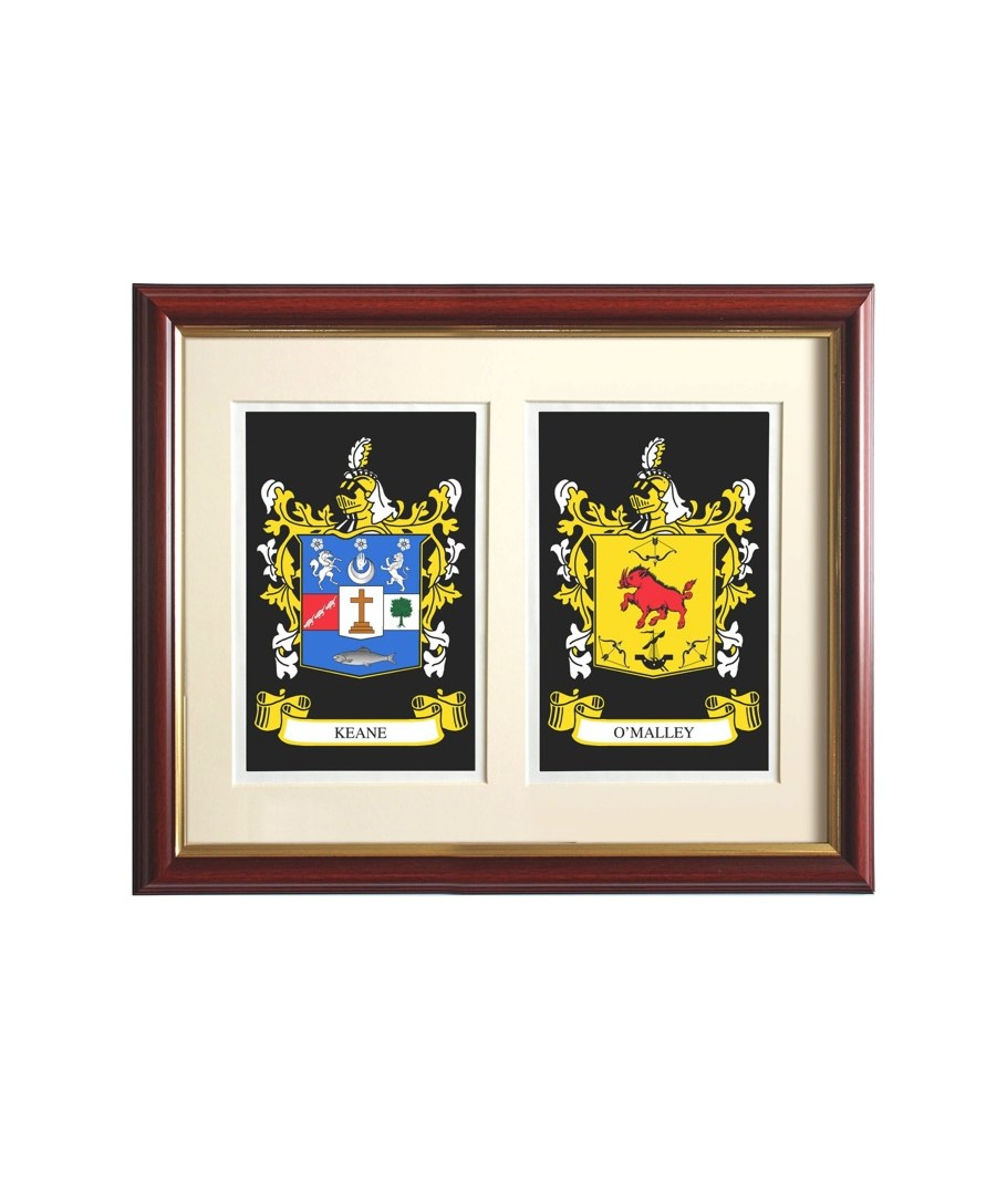Heraldry names heraldry names double heraldic mount framed biocorpaavc Images