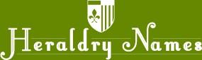 Heraldry Names